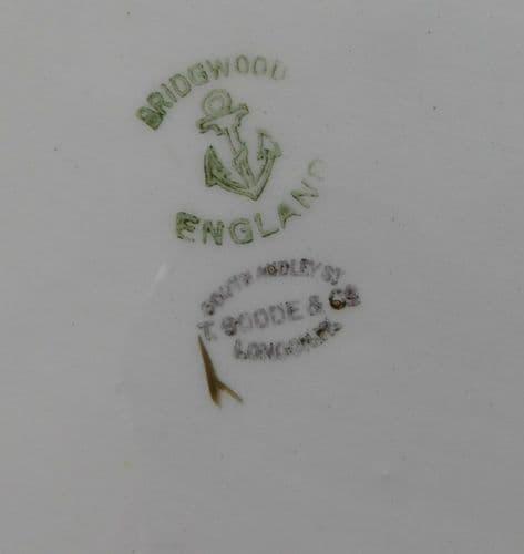 Vintage charger Bridgwood 18